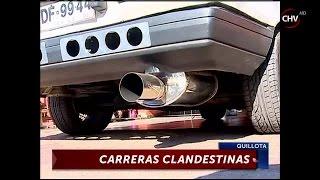 Carreras clandestinas atemorizan a vecinos de Quillota - CHV Noticias
