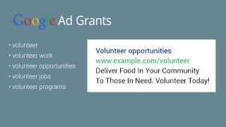 Structure your Ad Grants account