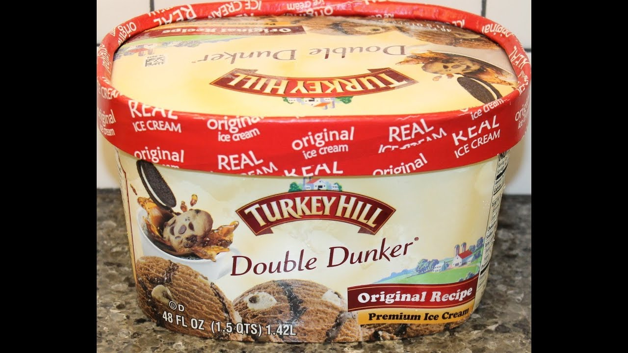 Turkey Hill Double Dunker Ice Cream Review Youtube