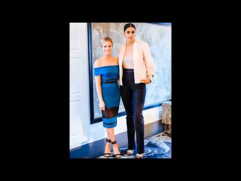 CFDA Awards 2015 Go Behind the Scenes with Brittany Snow and Designer Rachel Roy