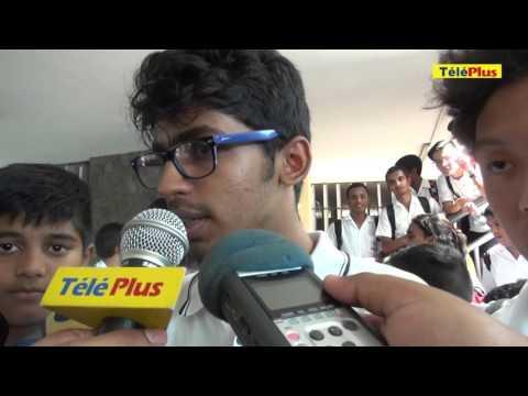 Collège Royal de Port-Louis : sit-in d'une centaine d'élèves