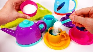 Teapot and Tea Playset for Kids | Learn Colors with Yippee Toys