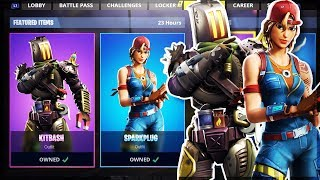 NEW KITBASH SKIN FORTNITE ITEM SHOP TODAY - ITEM SHOP LIVE COUNTDOWN UPDATE (Fortnite Battle Royale)