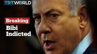 Breaking News: Netanyahu formally charged in graft investigation