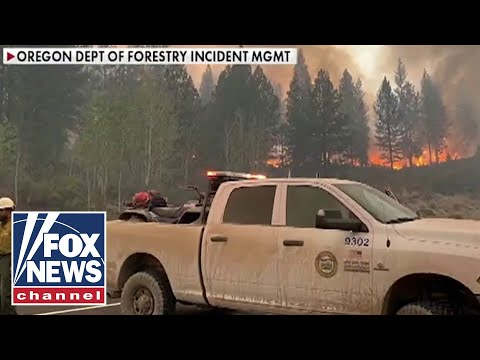 Oregon fires could 'burn into the winter': Oregon official