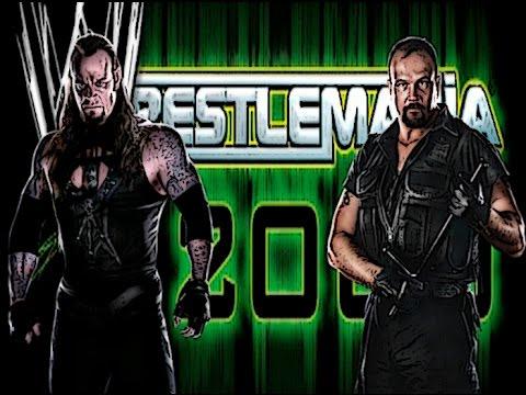 WWF Wrestlemania 2000 The Undertaker vs Big Bossman N64