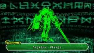 Digimon Data Squad PS2: Wargreymon digivolves to Omnimon