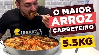 O MAIOR ARROZ CARRETEIRO!!! [5.5kg]