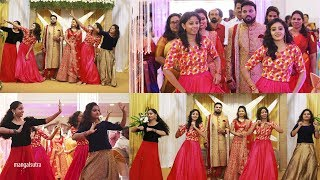 Engagement Bride & Groom Entry with dance