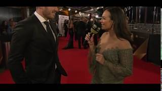 Darius Boyd and wife Kayla share cute moment on Dally M red carpet Top 10 Video