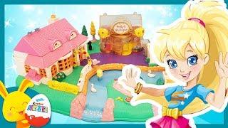Histoires et jouets Polly Pocket - La boutique magique aimantée - Titounis