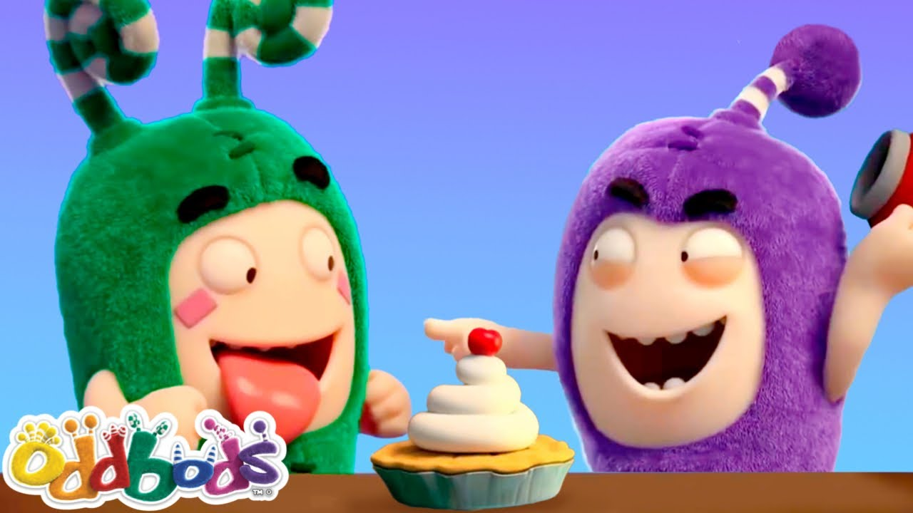 Oddbods Journal Funny Food Stories | Cartoons For Kids