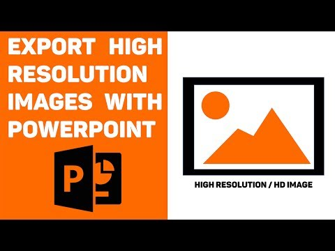 PowerPoint Tutorial: Export High Resolution Images - YouTube
