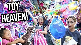 DIVISORIA TOY HUNT AND PARTY SUPPLIES SHOPPING - Via Austria