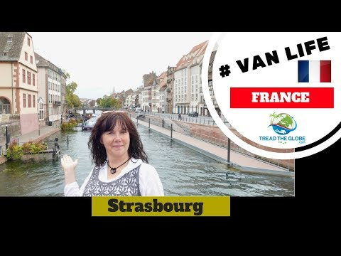 Impressions of Strasbourg - we're in France