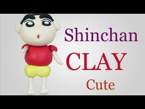 Shin Chan || Shin Chan clay art tutorial || Diy how to make Shin Chan with air dry clay at home thumbnail