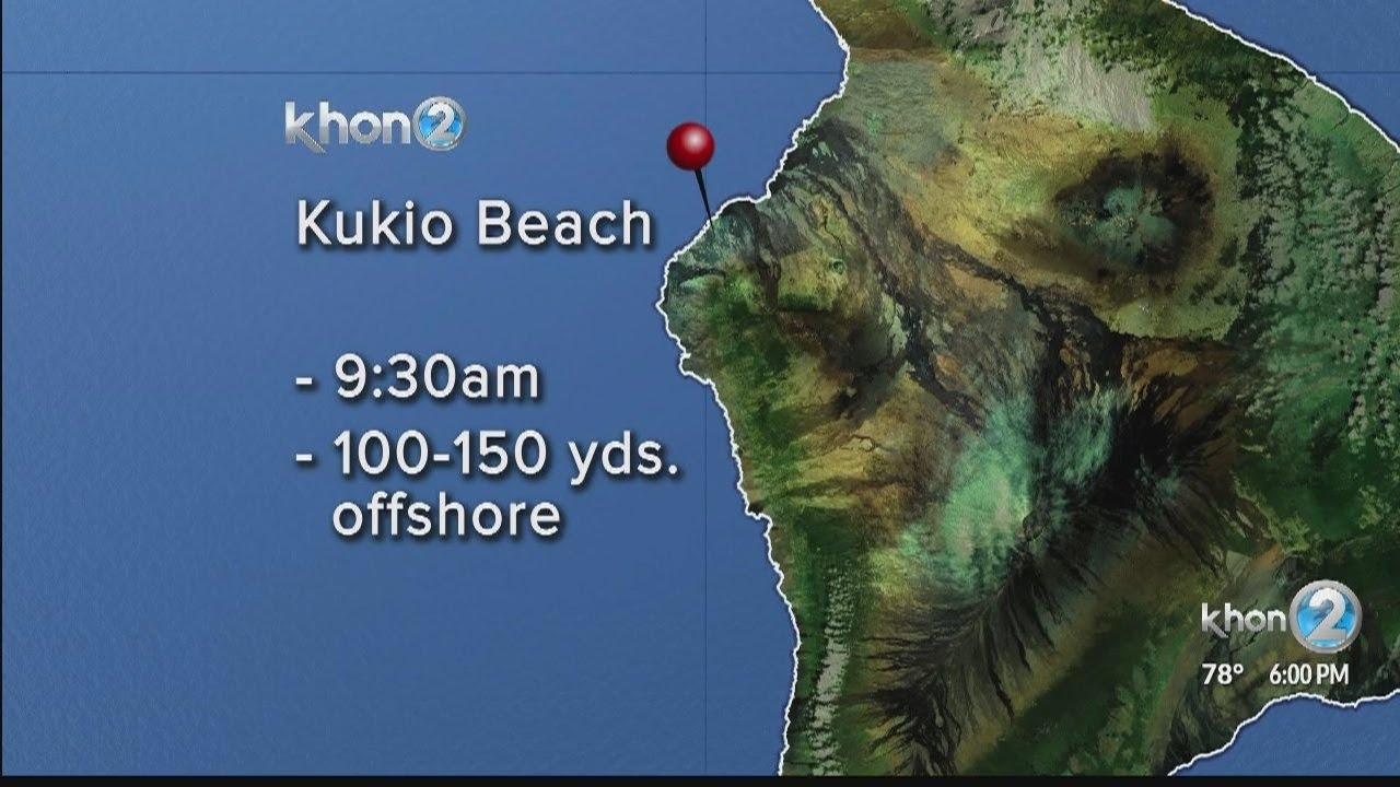 Shark Attacks Standup Paddleboarder off Big Island of Hawaii