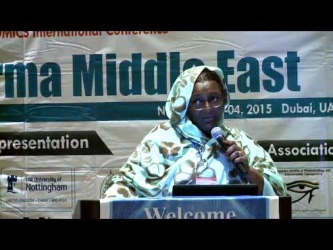 Amna Beshir Medani Ahmed   Sudan   Pharma Middle East 2015  Conference Series LLC