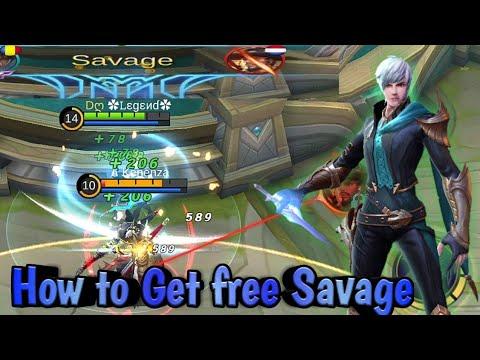 Gusion🗡️Free Savage   Build U0026 Emblem Set | Mobile Legends: Bang Bang