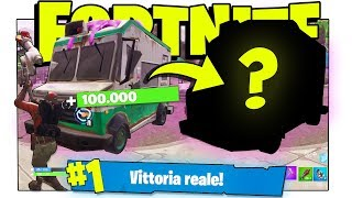 WHAT HAPPENS IF YOU BREAK AN ICE CREAM TRUCK? ROYAL VICTORY! (Fortnite ITA BATTLE ROYALE Challenge)