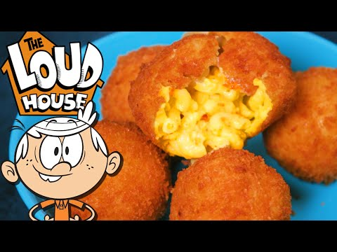 HOW TO MAKE Mac n' Cheese Bites from THE LOUD HOUSE!   Feast of Fiction