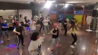 니가있어야할곳(GOD지오디) 안무동영상 - 부산방송라인댄스 패밀리
