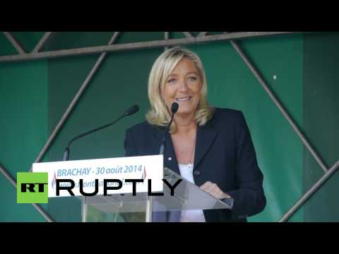 France: Le Pen promises to 'take the helm' in future government