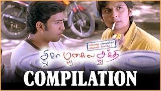 Siva Manasula Sakthi - Comedy scenes | Jiiva | santhanam | Anuya Bhagvath | Tamil Latest Comedy