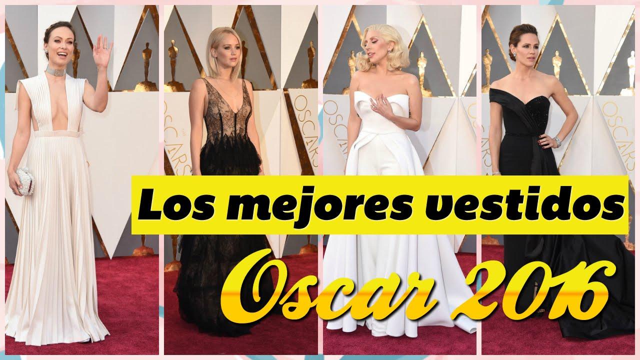 Oscar 2016 los mejores vestidos de la alfombra roja youtube - Las mejores alfombras ...