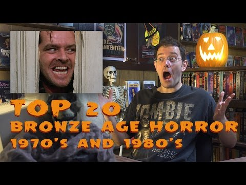 Top 20 Bronze Age Horror -  Monster Madness X movie review #25