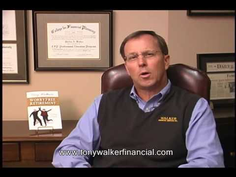 Tony Walker Financial - Top 10 Questions:  #1