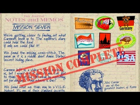 Mission 07 - (2001) Where in the World Is Carmen Sandiego - Treasures of Knowledge