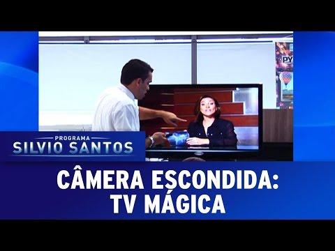 Tv mágica | Câmera Escondida (05/03/17)