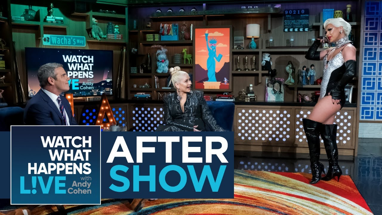Christina Aguilera Defends Lady Gaga S Choice Wwhl Youtube
