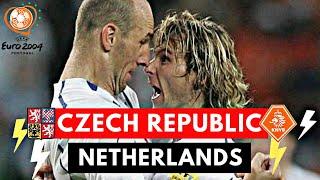 Netherlands vs Czech Republic 2-3 All Goals & highlights ( UEFA Euro 2004 )