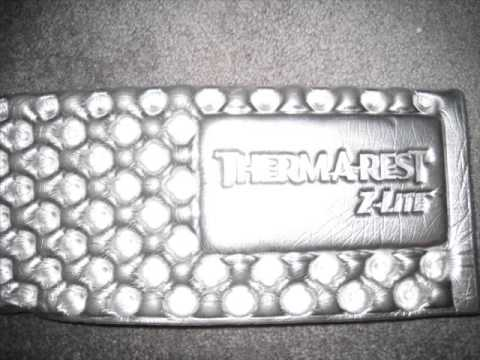 Therm-A-Rest Z Lite Sol Sleeping Pad Review - YouTube