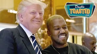 DONALD TRUMP MEETS KANYE WEST AT TRUMP TOWER - Double Toasted Podcast Highlight