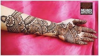 Full Hand Mehndi Designs | Beautiful Bridal Arabic Henna mehendi | Mehndiartistica # 1000+ VIDs