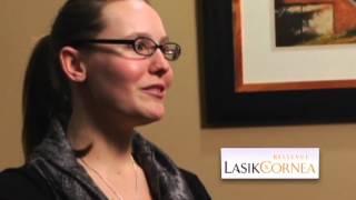 Laura - Bellevue LASIK patient testimonial(Before LASIK) & Cataract