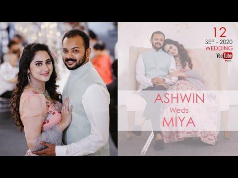 ASHWIN  +  MIYA  | WEDDING  |  LIVE