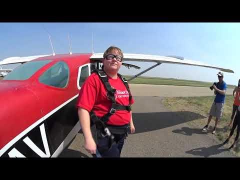 Skydive South Sask Tandem Video: - - Cynthia Martin