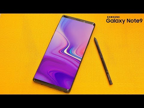 Samsung Galaxy Note 9 Has The BEST DISPLAY EVER