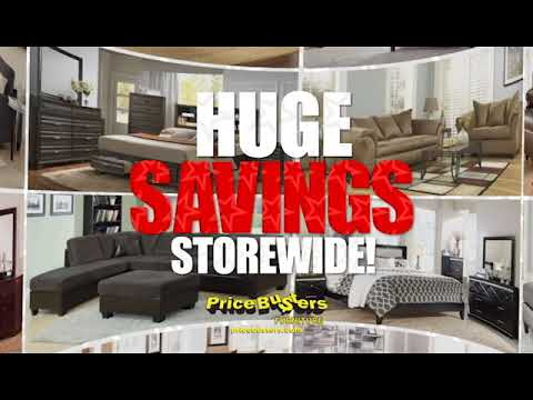 price busters discount furniture memorial day sale 2018 youtube. Black Bedroom Furniture Sets. Home Design Ideas