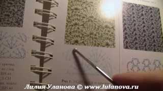 Шарф Катюша - вязание крючком по схеме