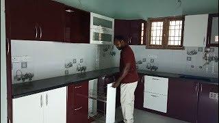 BERRY BUNCH Colour High Gloss Finish for Ramya Modular Kitchen, Mr. Baskaran Chitlapakkam,