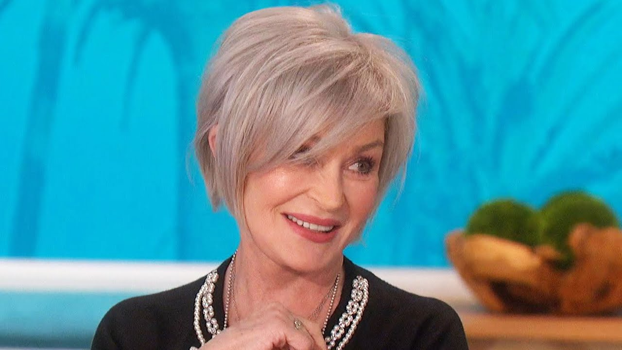 Sharon Osbourne Reveals What Husband Ozzy Thinks of Her New Gray ...