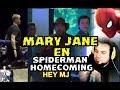 MARY JANE WATSON EN SPIDERMAN HOMECOMING Y DOLPH LUNDGREN ENTRENA PARA AQUAMAN