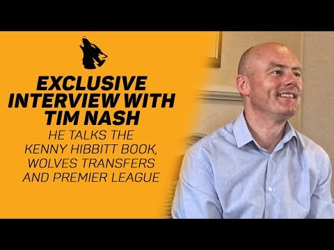 Exclusive Interview With Tim Nash - We Talk The Kenny Hibbitt Book, Wolves Rumours & Premier League