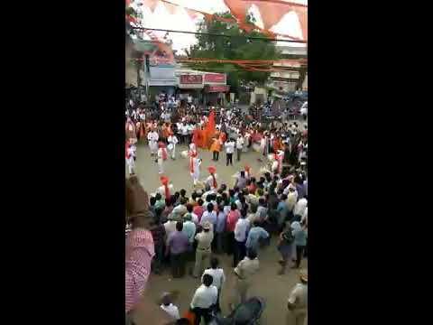 Ranibennur Vishwa Hindu mahaganapati visharjane