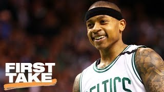 Is Isaiah Thomas Better In The 4th Quarter Than LeBron James? | First Take | May 3, 2017